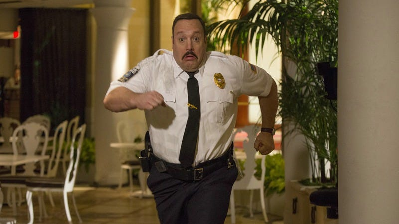 Illustration for article titled Even with a few extra laughs, Paul Blart still can't save the day