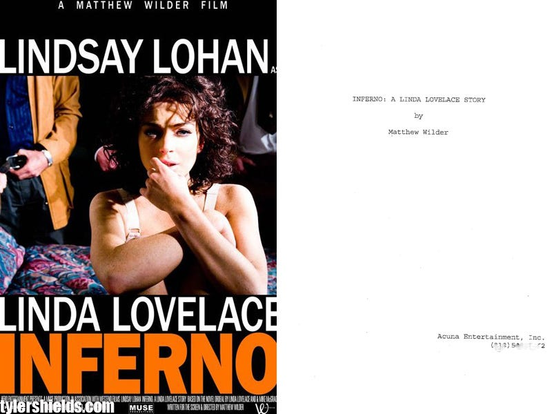 Illustration for article titled Revealed: Lohan's Porn-Star Script Has Rough Sex, Sad Sex, And Sex With A Dog