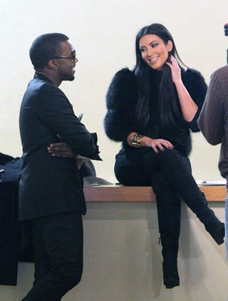 Illustration for article titled A Kozy Konversation Between Kanye & Kim