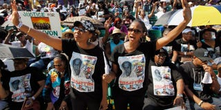 A Florida rally in support of Martin(Getty Images)