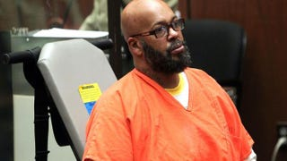 "Marion ""Suge"" Knight at a preliminary hearing at the Criminal Courts Building on April 8, 2015, in Los AngelesDavid Buchan/Getty Images"