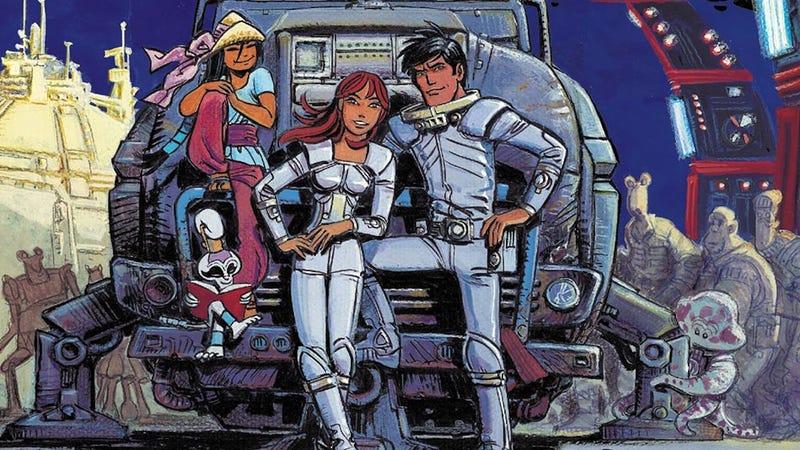 Illustration for article titled El maravilloso cómic francés en el que George Lucas se inspiró para crear Star Wars