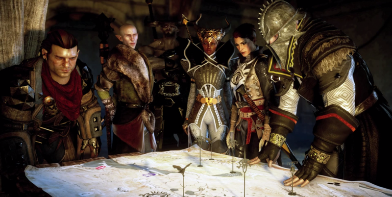 Illustration for article titled Dragon Age Cheats Let You Have Naked Party Members