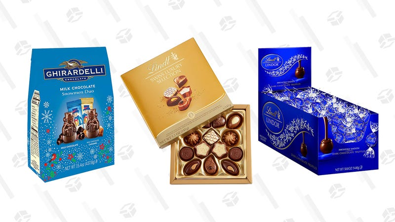 Lindt and Ghirardelli Gold Box | Amazon