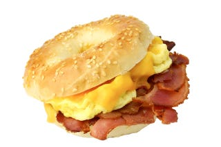 Illustration for article titled Which Is Better: Fancy Bacon Egg & Cheese or Regs Bacon Egg & Cheese?