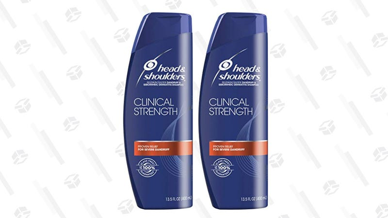 Head and Shoulders Clinical Strength Shampoo, Twin Pack | $8 | Amazon | Clip 30% off coupon