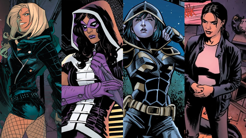 Ladies and gentleman, your new Birds of Prey.