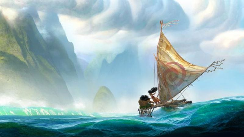 Illustration for article titled Disney's next princess film, Moana, to hit theaters in 2016