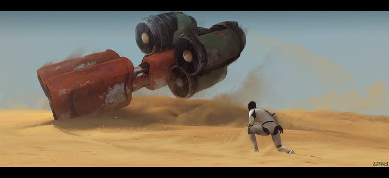 Illustration for article titled There's Already Amazing Star Wars: Episode VII Fan Art