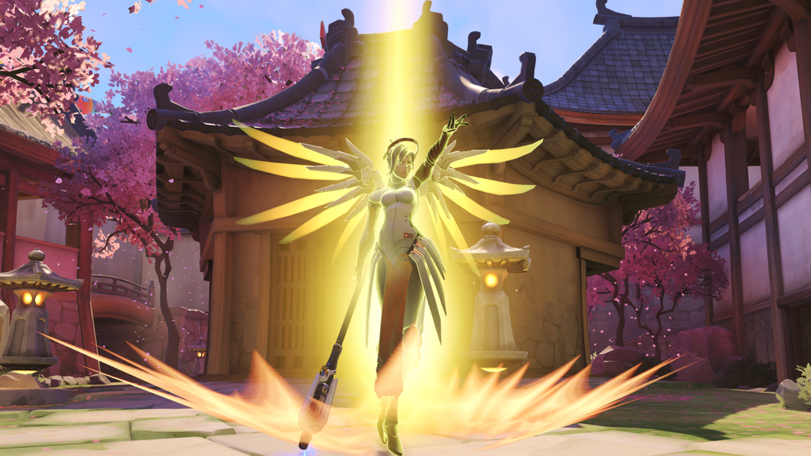 Overwatch Pro Loves Mercy Despite His Teammates Who Can't Stand Her