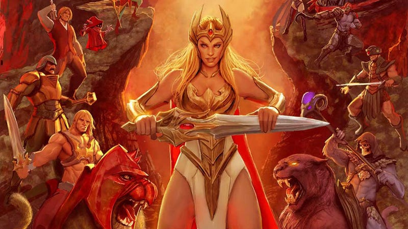 Illustration for article titled A Revamped She-Ra Will Make Her Return in Comics