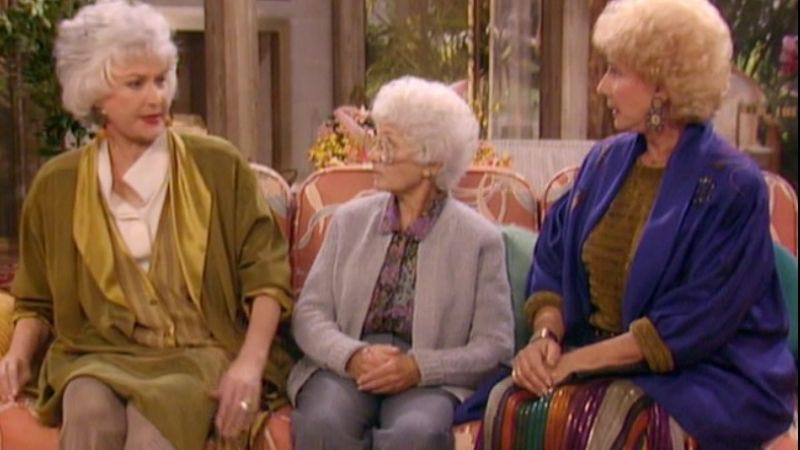 Illustration for article titled A hurricane was just the backdrop for a family squabble in this Golden Girls two-parter