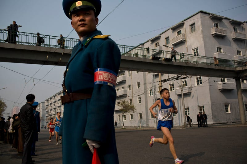 Illustration for article titled Scenes From North Korea's Marathon