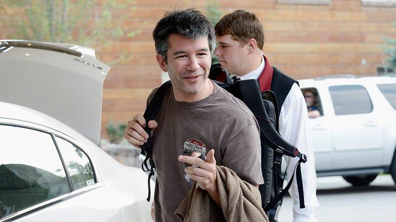 El CEO de Uber, Travis Kalanick. Imagen: Getty