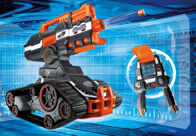 nerf s new dart blasting rc battle tank is out of