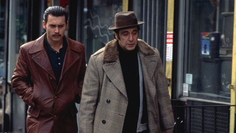 Illustration for article titled Donnie Brasco features Al Pacino as a Willy Loman-esque sad sack
