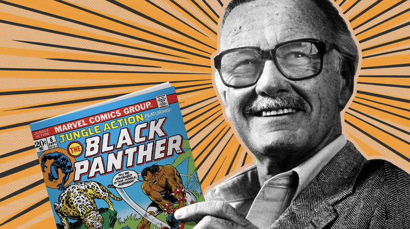 Illustration for article titled How Stan Lee, Creator of Black Panther, Taught a Generation of Black Nerds About Race, Art and Activism