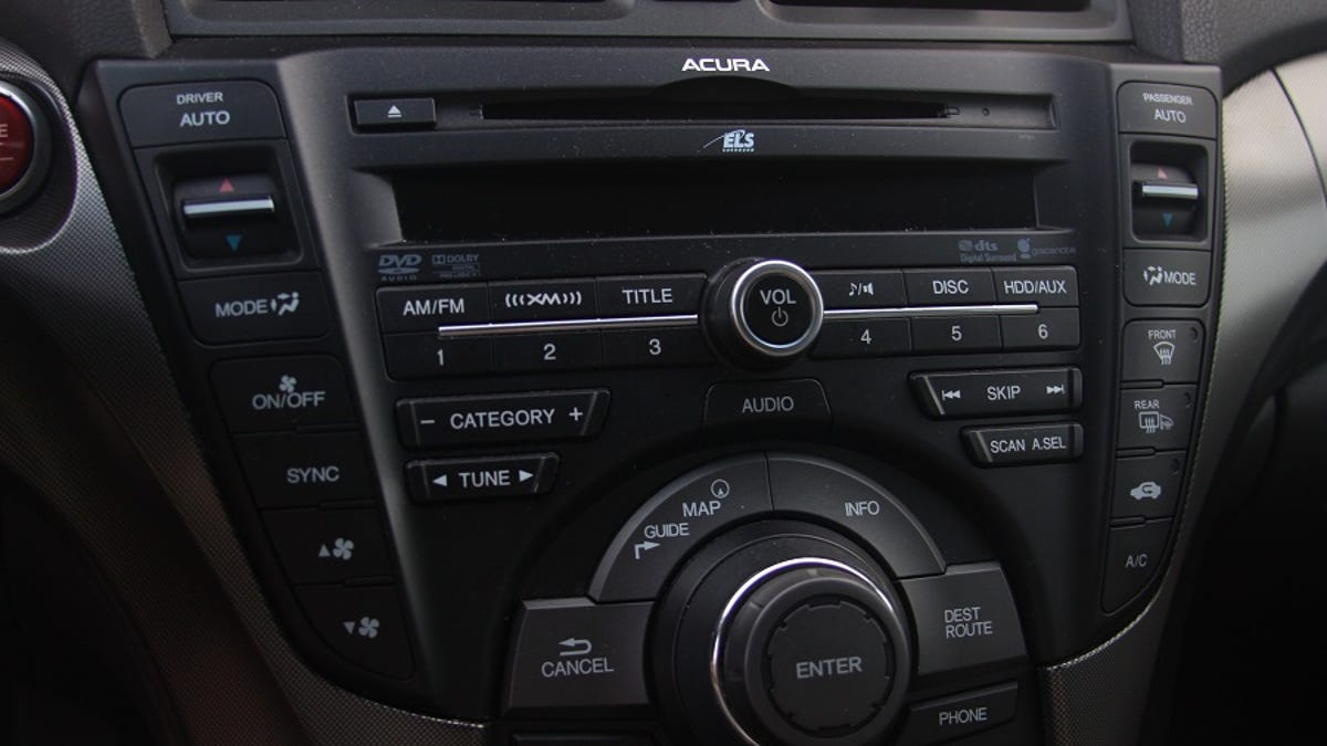 2012 Acura Tl Sh Awd Advance The Oppositelock Review 2002 Aftermarket Radio
