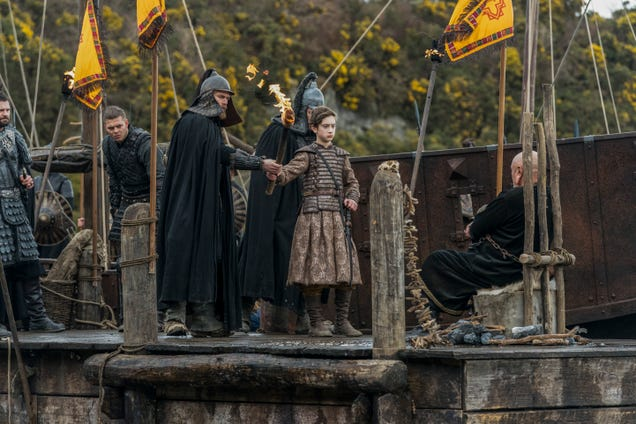 In its return, Vikings pulls its characters from the brink, only to send one over again
