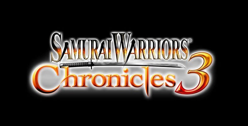 Illustration for article titled Samurai Warriors Chronicles 3 Heading to West on PSVita and 3DS