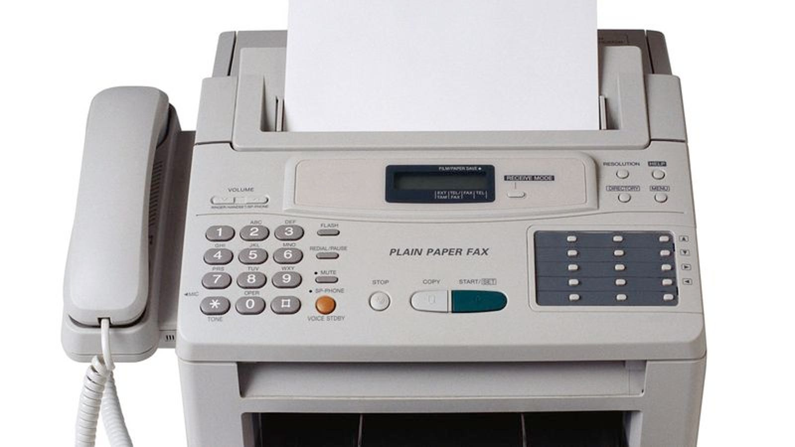 report  fax machines still pretty impressive if you think