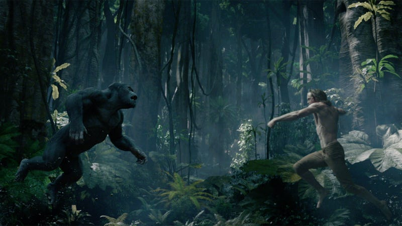 Illustration for article titled The New Tarzan Trailer Is Very Terrifying