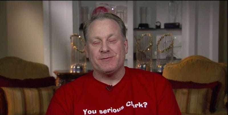 Illustration for article titled Curt Schilling Publishes Entertaining Endorsement Of Donald Trump