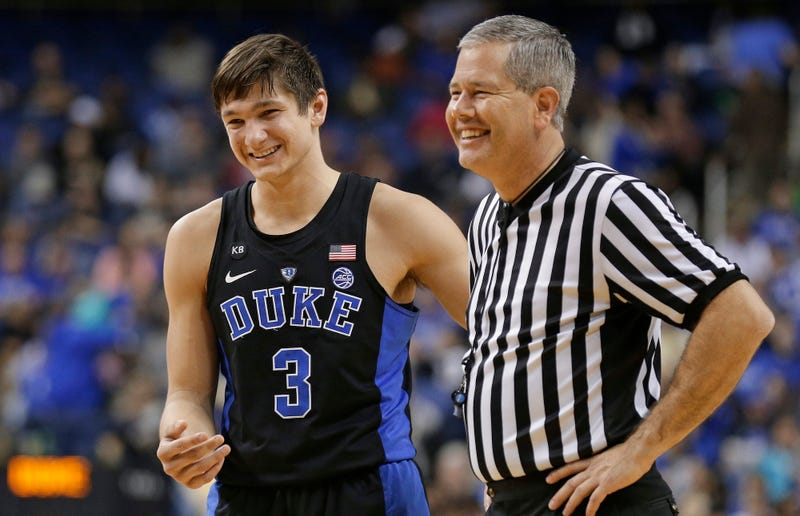 Grayson Allen suspended indefinitely by Duke after latest tripping incident