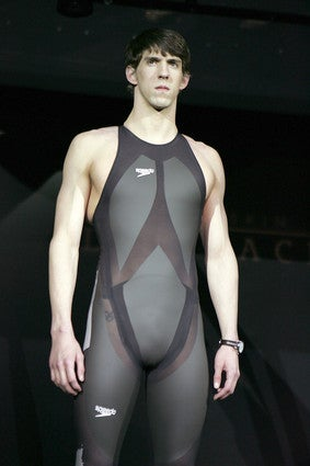 Illustration for article titled Record-Setting Bodysuits Banned In Major Swimming Competitions