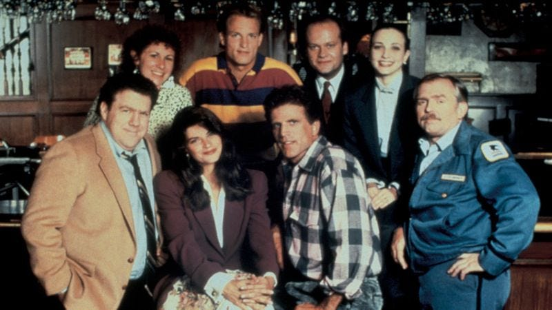 Illustration for article titled 10 episodes that show how Cheers stayed great for 11 seasons