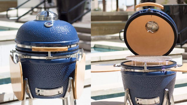 5200e6a0c1081 Do you need a 200 pound ceramic kamado grill  Yes, yes I think you do. This  Lonestar Chef Ceramic Kamado Grill normally sells for  1000, but it s down  the ...