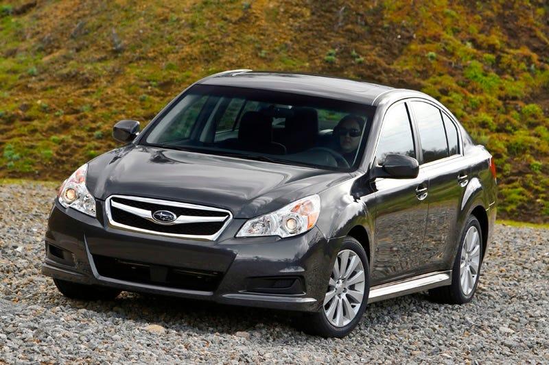 Illustration for article titled 2010 Subaru Legacy: Bigger, Longer And Taller