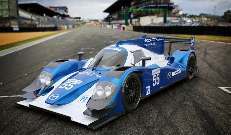 Illustration for article titled Mazda Returns To Le Mans Next Year With McDreamy Skyactiv Diesel