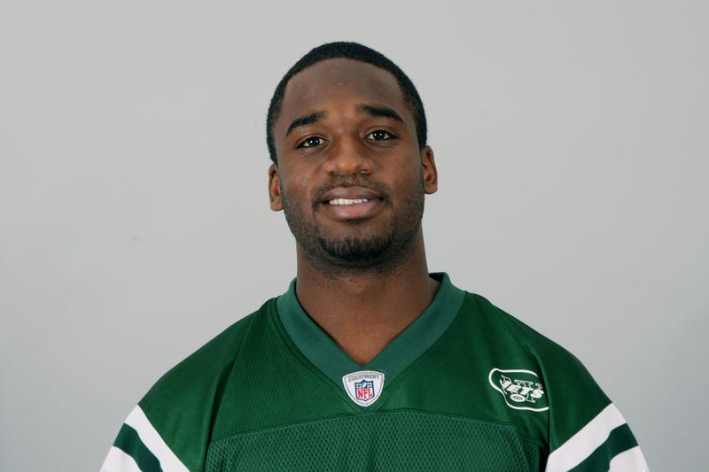 In this handout image provided by the NFL, Joe McKnight of the New York Jets poses for his NFL headshot circa 2011 in Florham Park, N.J. (NFL via Getty Images)