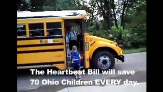 Illustration for article titled Advocates Of Ohio 'Heartbeat Bill' To Begin Airing Obnoxious Ads