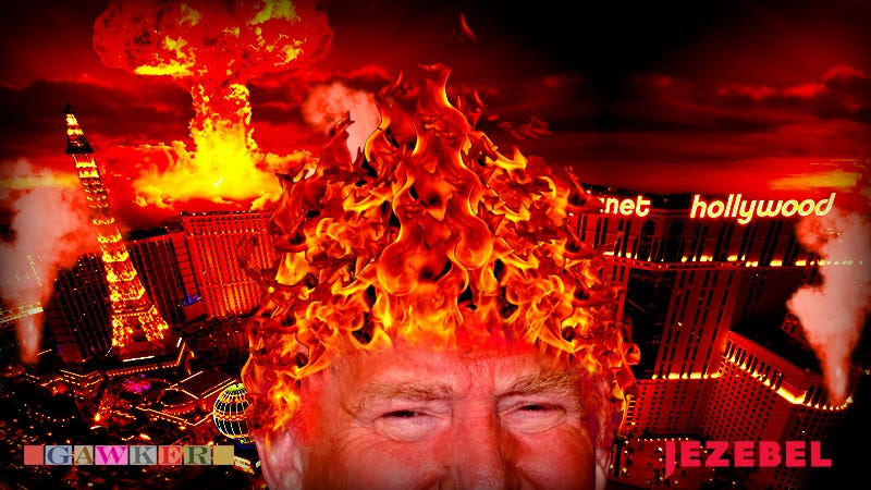 Illustration for article titled Hellfire, Damnation & Donald: Welcome to Your Republican Debate Liveblog!