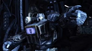Illustration for article titled First Look At Transformers: War For Cybertron Gameplay Footage