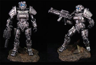 Illustration for article titled More Fallout 3 Custom Figures Mean More Awesome