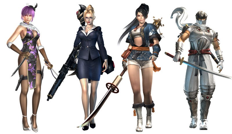 Illustration for article titled Ninja Gaiden Sigma 2 Gets Fashionable DLC