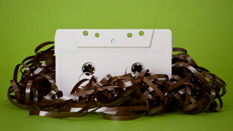 Illustration for article titled The Future of Data Storage Is... Cassette Tape?
