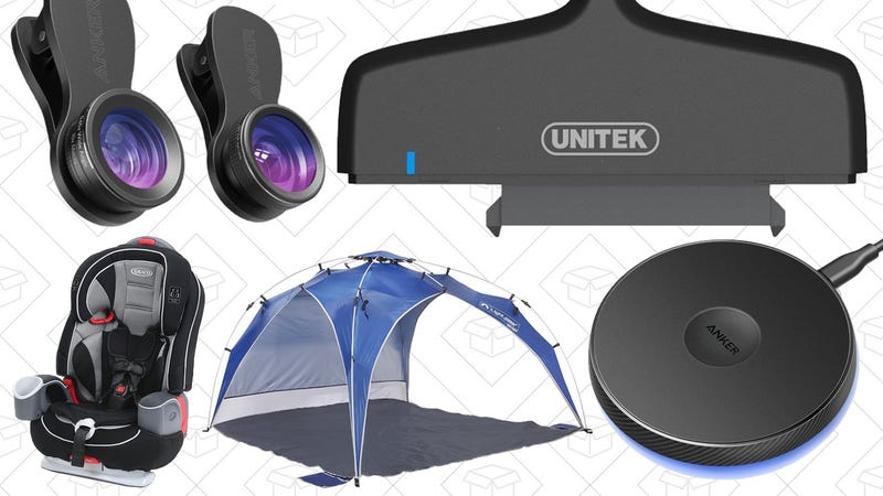 Illustration for article titled Today's Best Deals: Instant Shade, Graco Baby Products, Smartphone Camera Lenses, and More