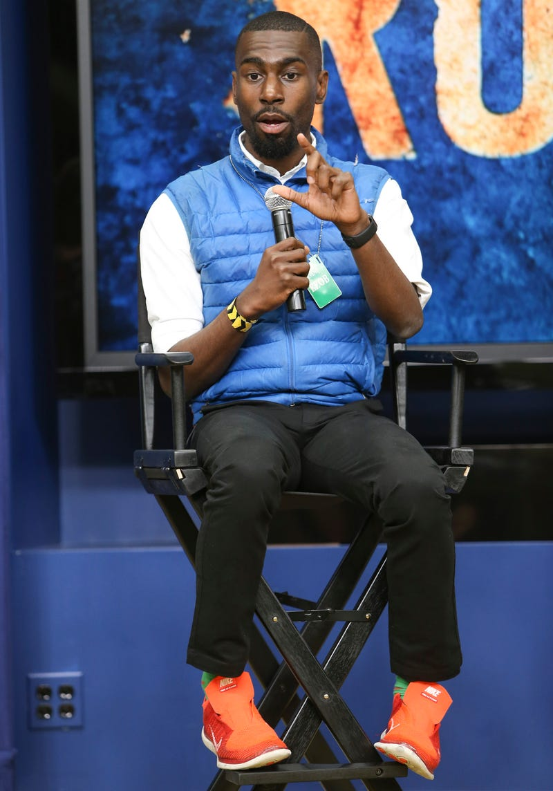 DeRay Mckesson speaking May 17, 2016, in Washington, D.C.Paul Morigi/Getty Images for History
