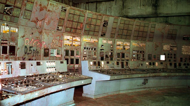 Chernobyl s Infamous Reactor 4 Control Room Is Now Open to Tourists