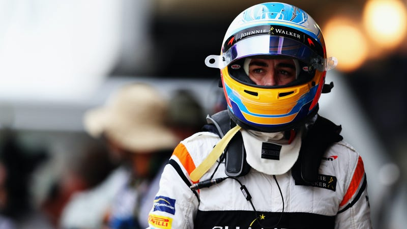 Alonso in Brazil earlier this month for the F1 Brazilian Grand Prix. Photo credit: Dan Istitene/Getty Images