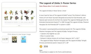 Illustration for article titled New Poster Set Traces the Evolution of Link