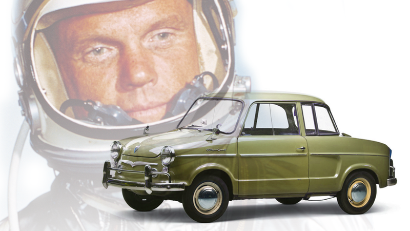 Illustration for article titled John Glenn Had The Coolest Car Of Any Astronaut