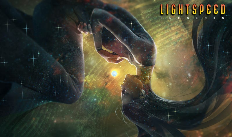 """Illustration for article titled LIGHTSPEED Presents: """"The Universe, Sung in Stars"""" by Kat Howard"""