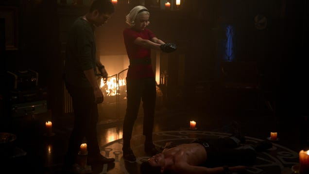Chilling Adventures of Sabrina gets stuck in a time loop, but emerges mostly unscathed