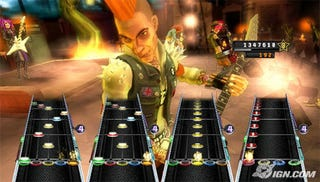 Illustration for article titled No Friend Codes For Guitar Hero 5 On Wii