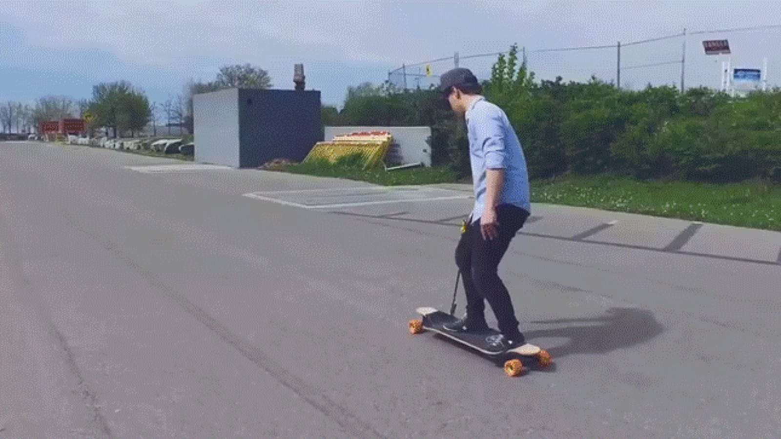 A Drill-Powered Skateboard Is the Silliest Way to Get Around Town